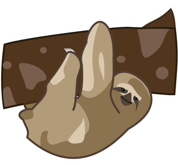 Sloth clipart #14, Download drawings
