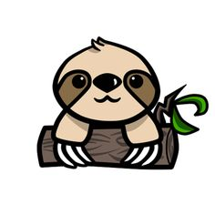 Sloth clipart #8, Download drawings