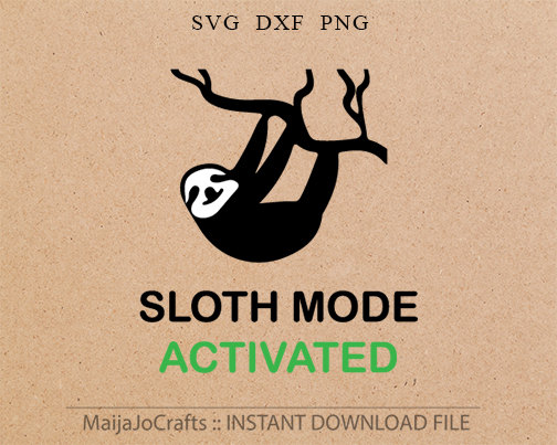 Sloth svg #9, Download drawings