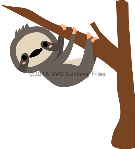 Sloth svg #2, Download drawings