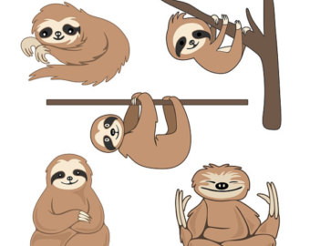 Sloth svg #19, Download drawings