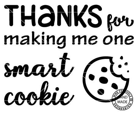 smart cookie svg #81, Download drawings