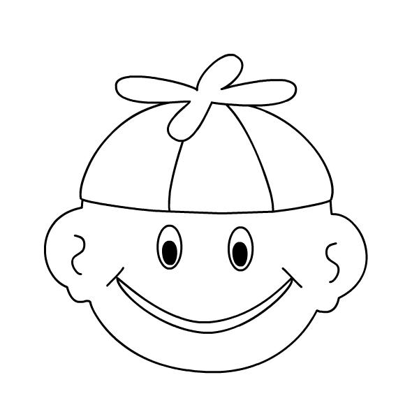 Smile coloring #10, Download drawings