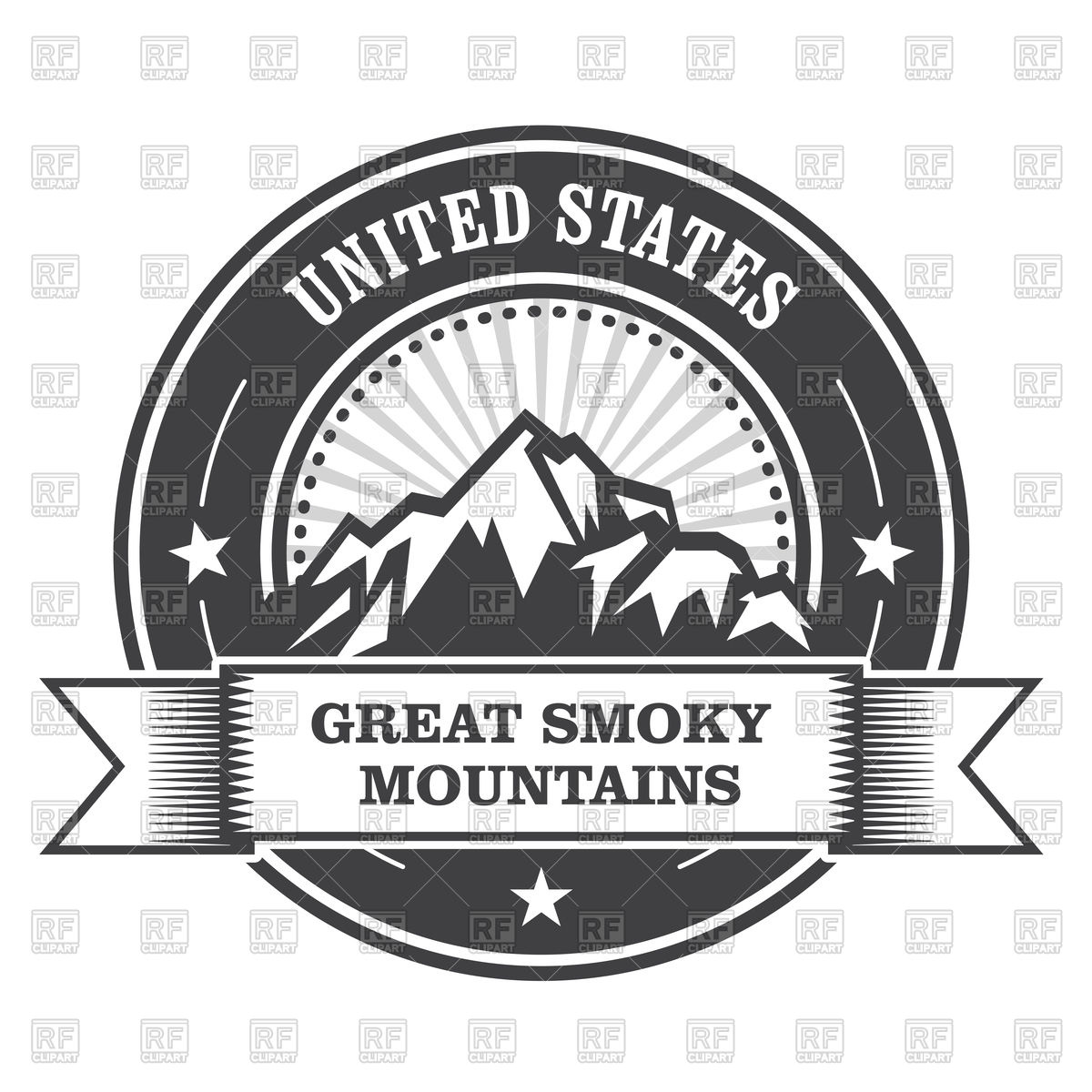 Smoky Mountains clipart #2, Download drawings