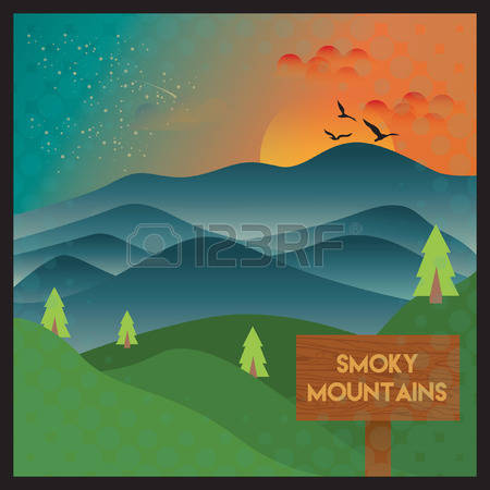 Smoky Mountains clipart #18, Download drawings