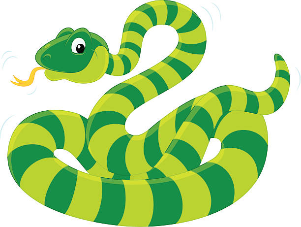 Smooth Green Snake clipart #1, Download drawings