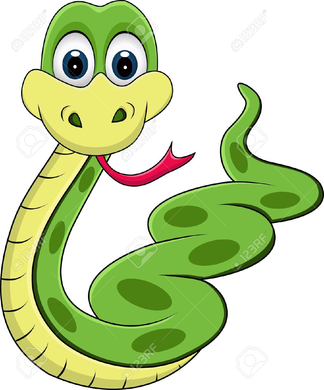 Smooth Green Snake clipart #4, Download drawings