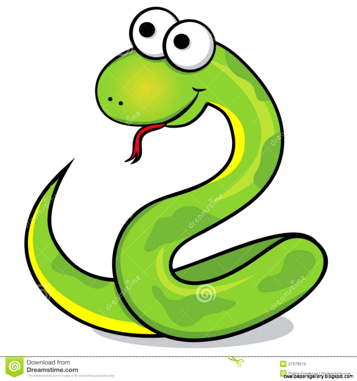 Smooth Green Snake clipart #10, Download drawings