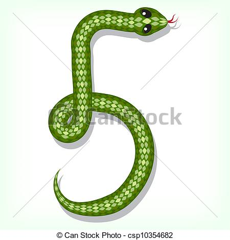Smooth Green Snake clipart #6, Download drawings