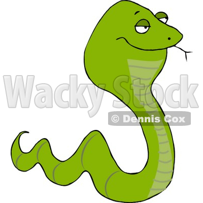 Smooth Green Snake clipart #19, Download drawings