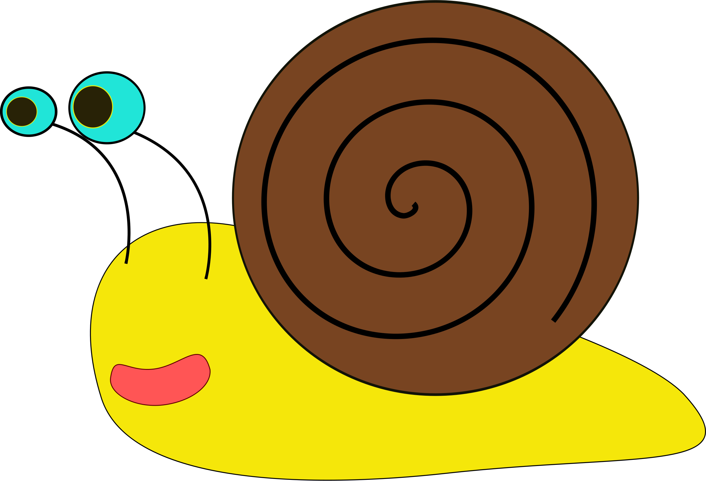 Snail clipart #5, Download drawings