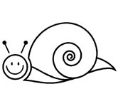 Snail coloring #4, Download drawings