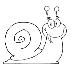 Snail coloring #11, Download drawings