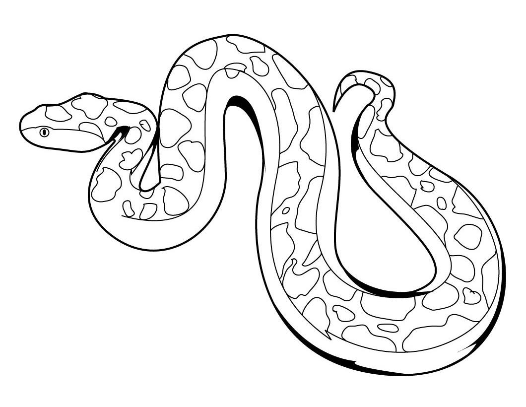 Serpent coloring #17, Download drawings