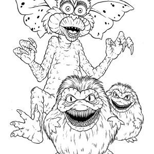 Snakeman coloring #13, Download drawings