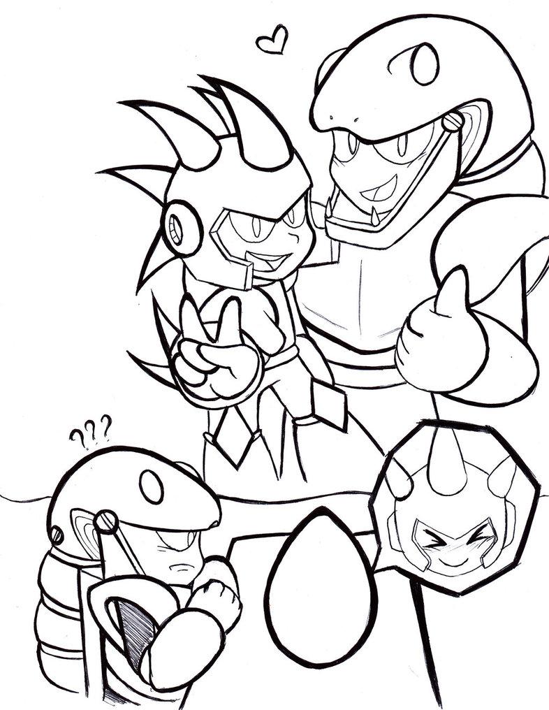 Snakeman coloring #9, Download drawings