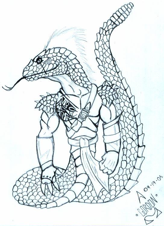 Snakeman coloring #1, Download drawings