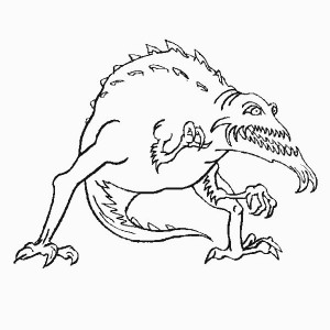 Snakeman coloring #16, Download drawings