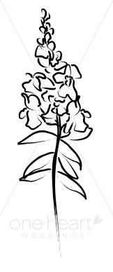 Snapdragon clipart #18, Download drawings