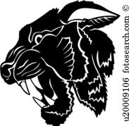 Snarl clipart #7, Download drawings