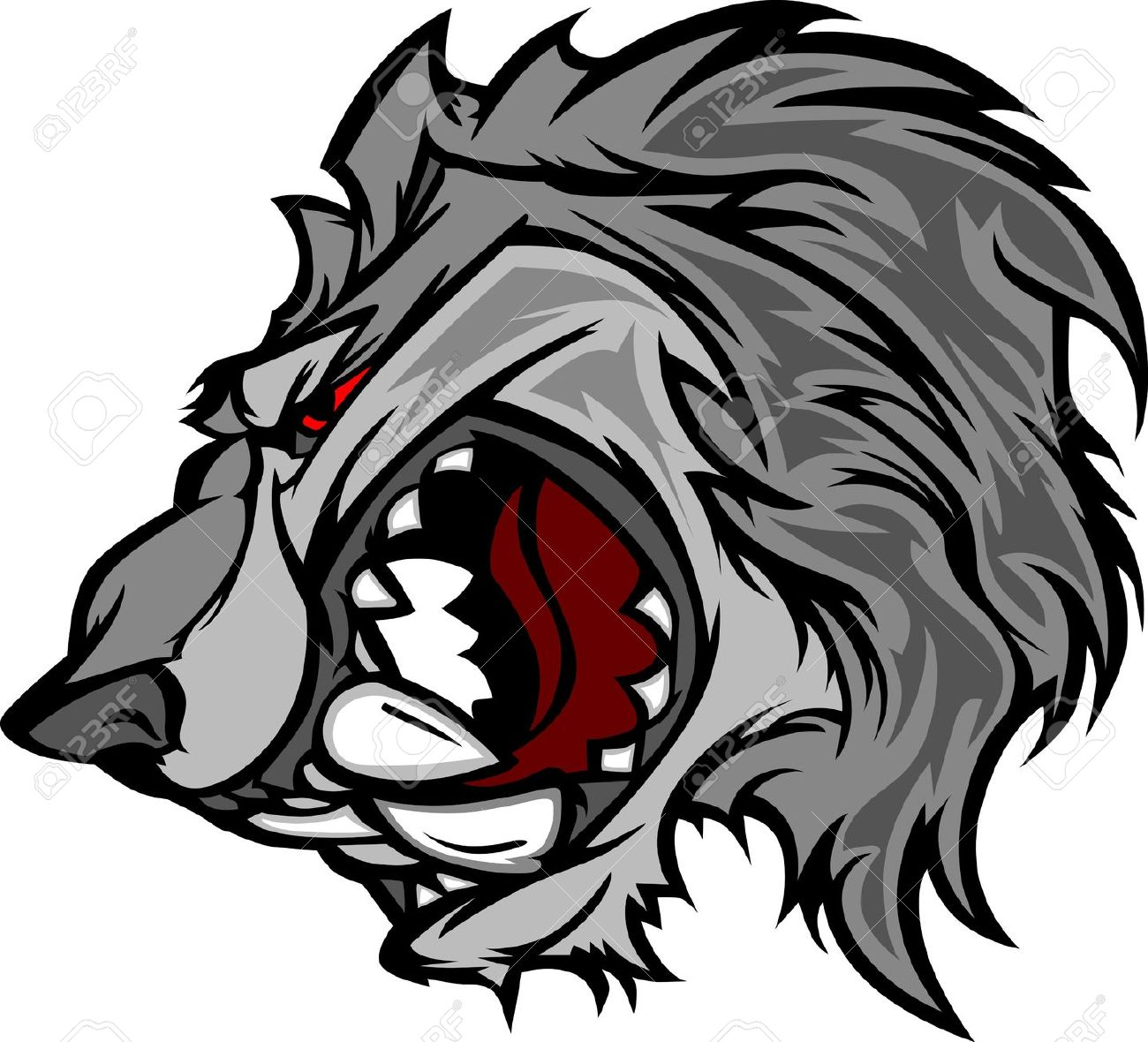 Snarl clipart #2, Download drawings