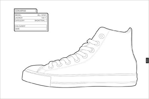 Sneakers coloring #14, Download drawings