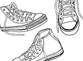 Sneakers svg #2, Download drawings