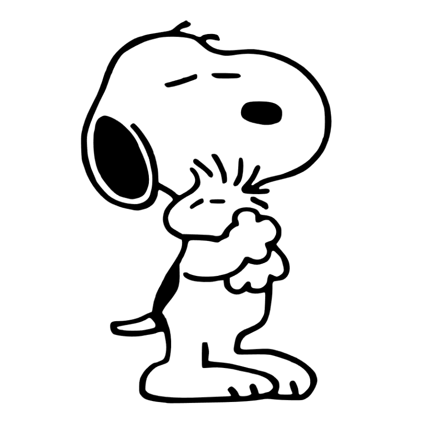 snoopy svg #1115, Download drawings