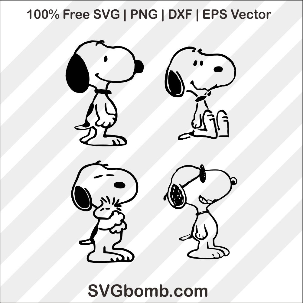 snoopy svg #1119, Download drawings