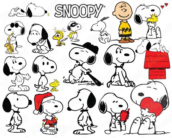 snoopy svg #1113, Download drawings