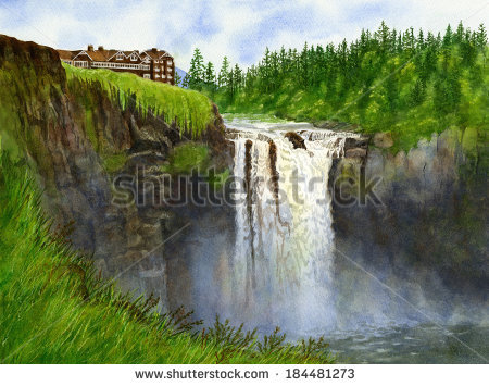 Snoqualmie Falls clipart #18, Download drawings