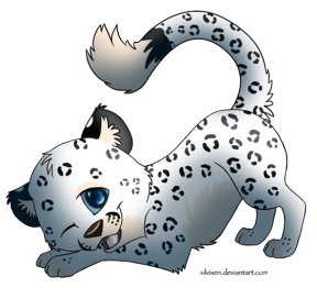 Snow Leopard clipart #7, Download drawings