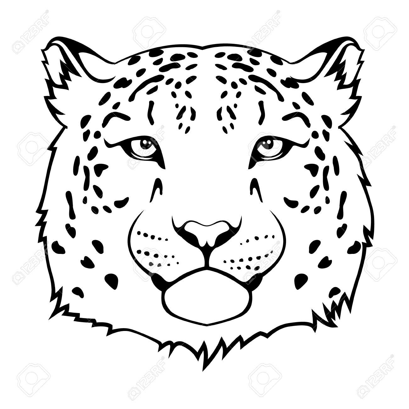 Snow Leopard clipart #3, Download drawings