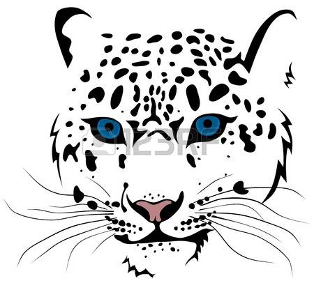 Snow Leopard clipart #18, Download drawings