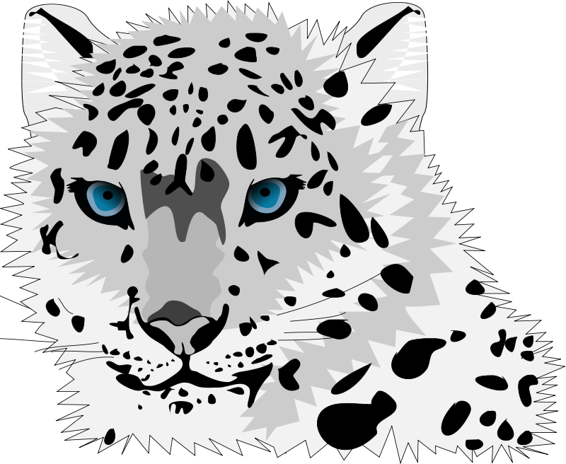 The Snow Leopards clipart #18, Download drawings