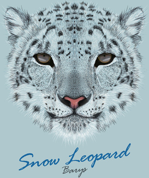 Snow Leopard svg #19, Download drawings