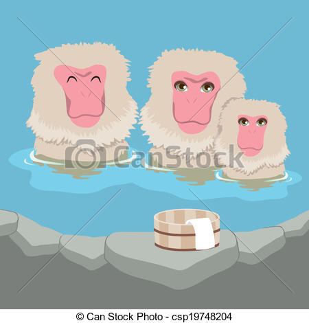 Snow Monkey clipart #19, Download drawings