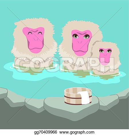 Snow Monkey clipart #8, Download drawings
