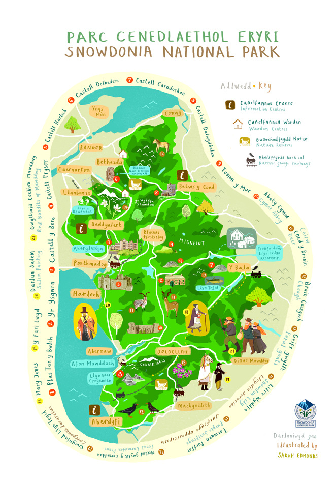 Snowdonia National Park clipart #2, Download drawings