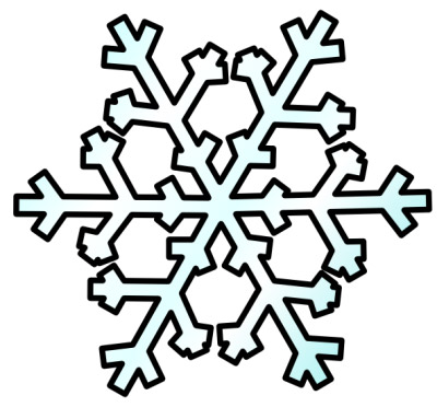 Snowflake clipart #6, Download drawings