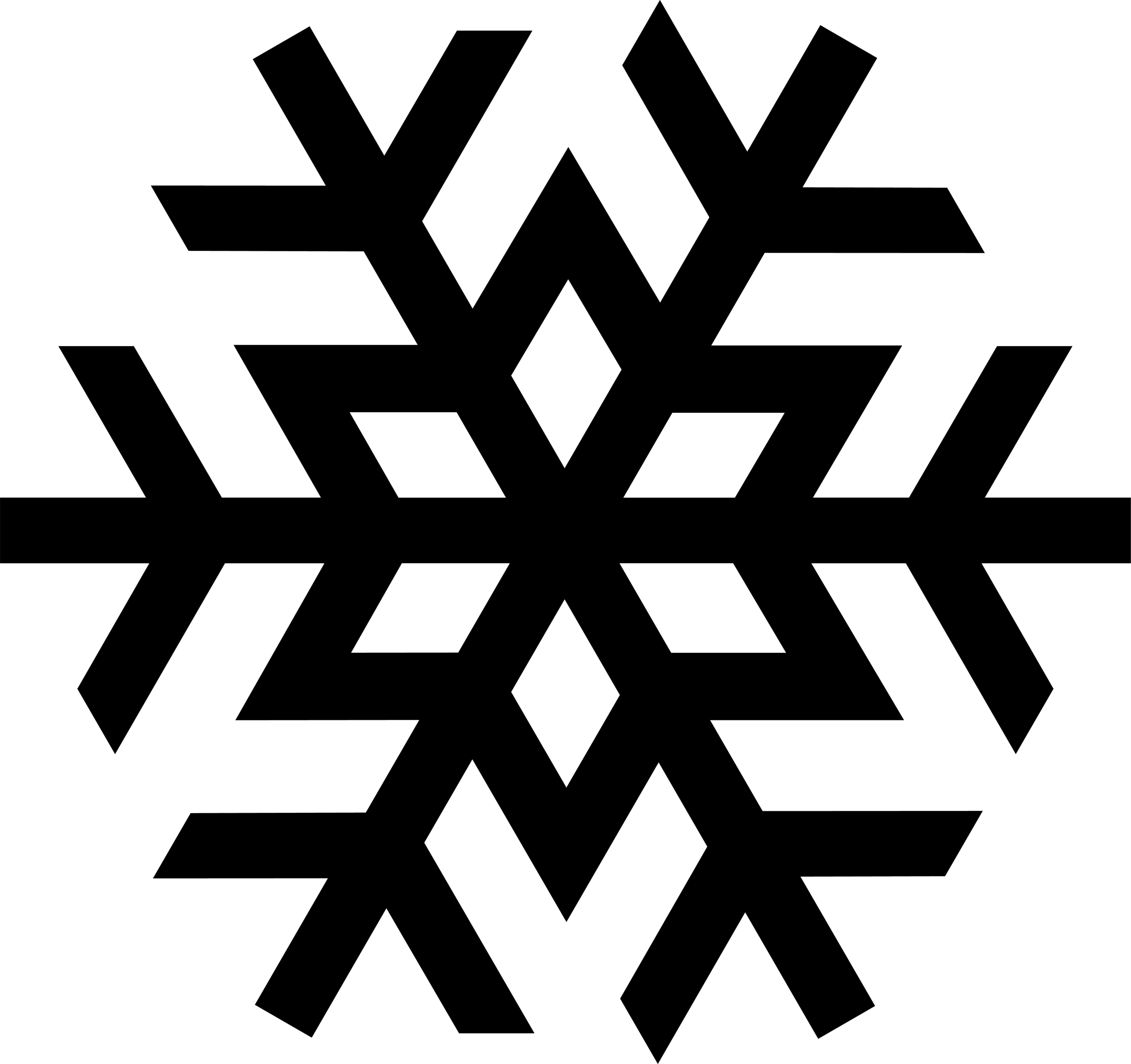 Snowflake clipart #2, Download drawings