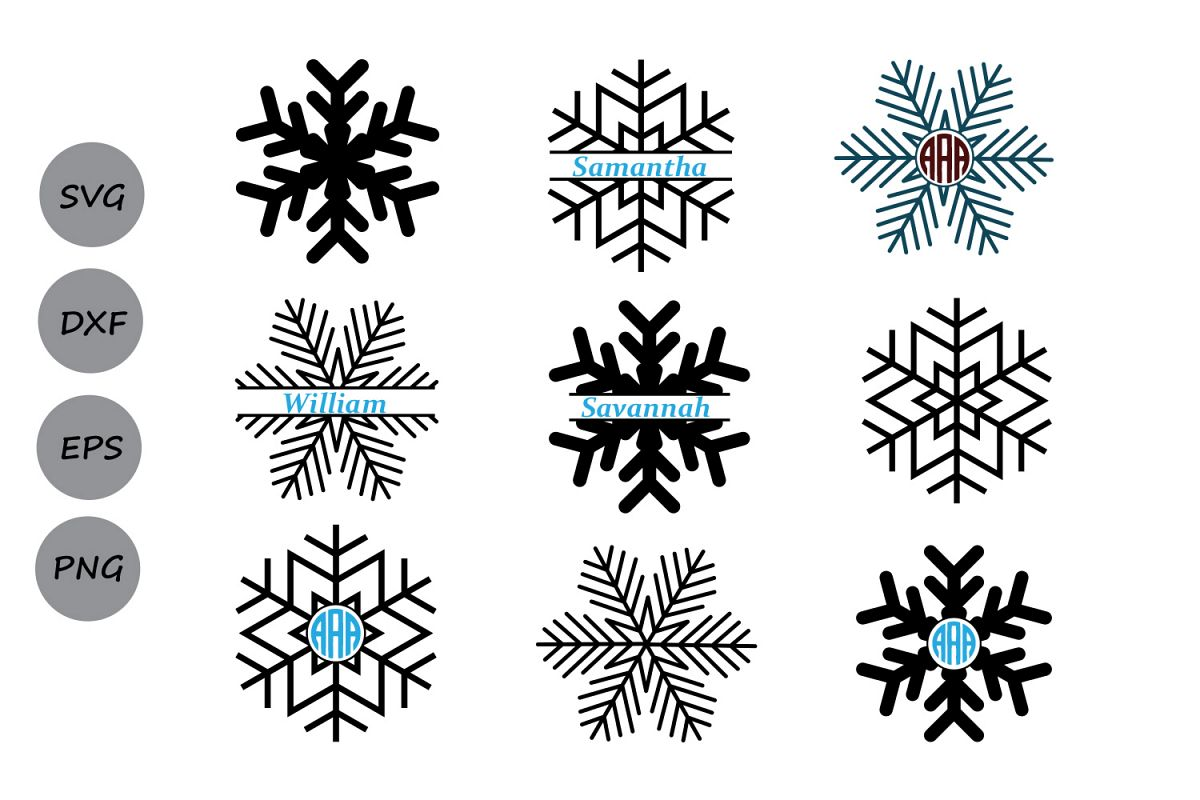 svg snowflake #1015, Download drawings