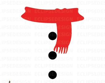 snowman scarf svg #72, Download drawings