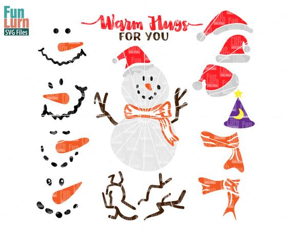 snowman scarf svg #69, Download drawings