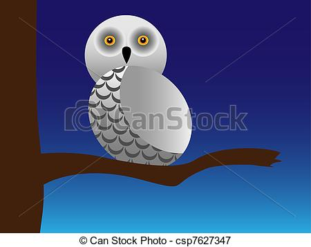 Snowy Owl clipart #3, Download drawings