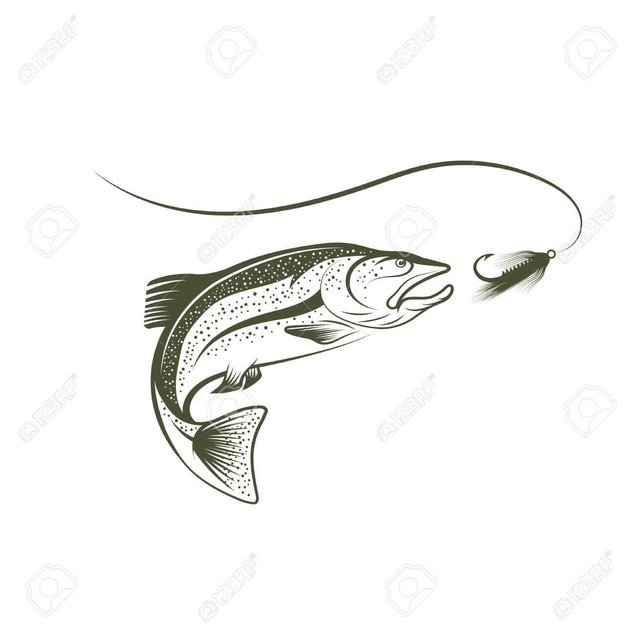 Sockeye Salmon clipart #20, Download drawings