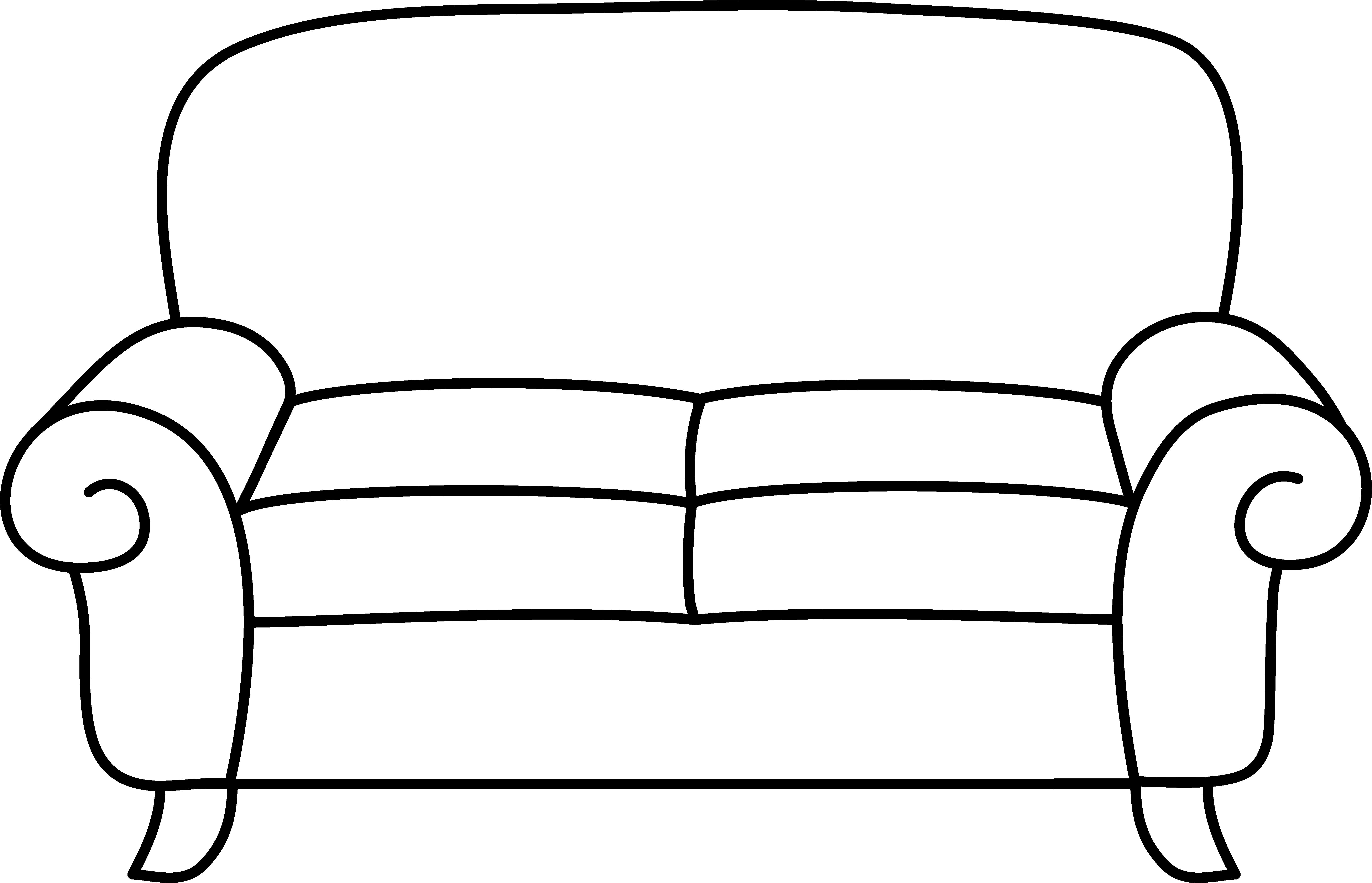 Sofa clipart #17, Download drawings