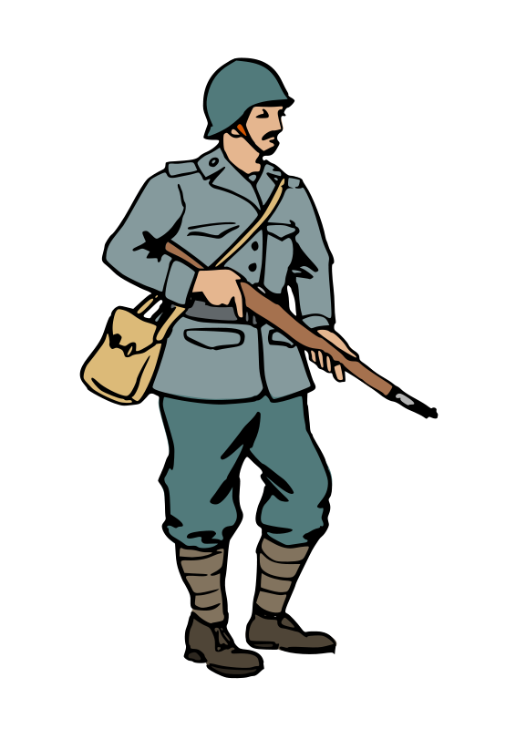 Soldier clipart #10, Download drawings