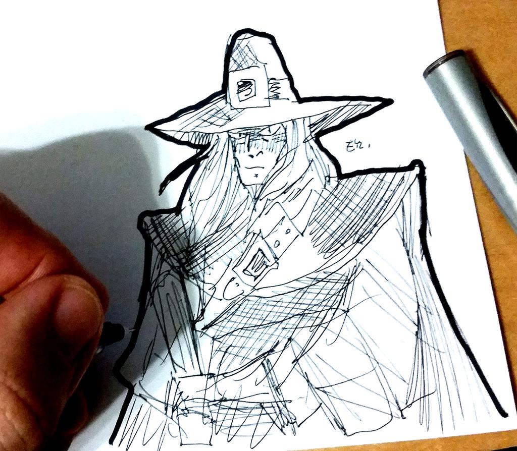 Solomon Kane coloring #4, Download drawings