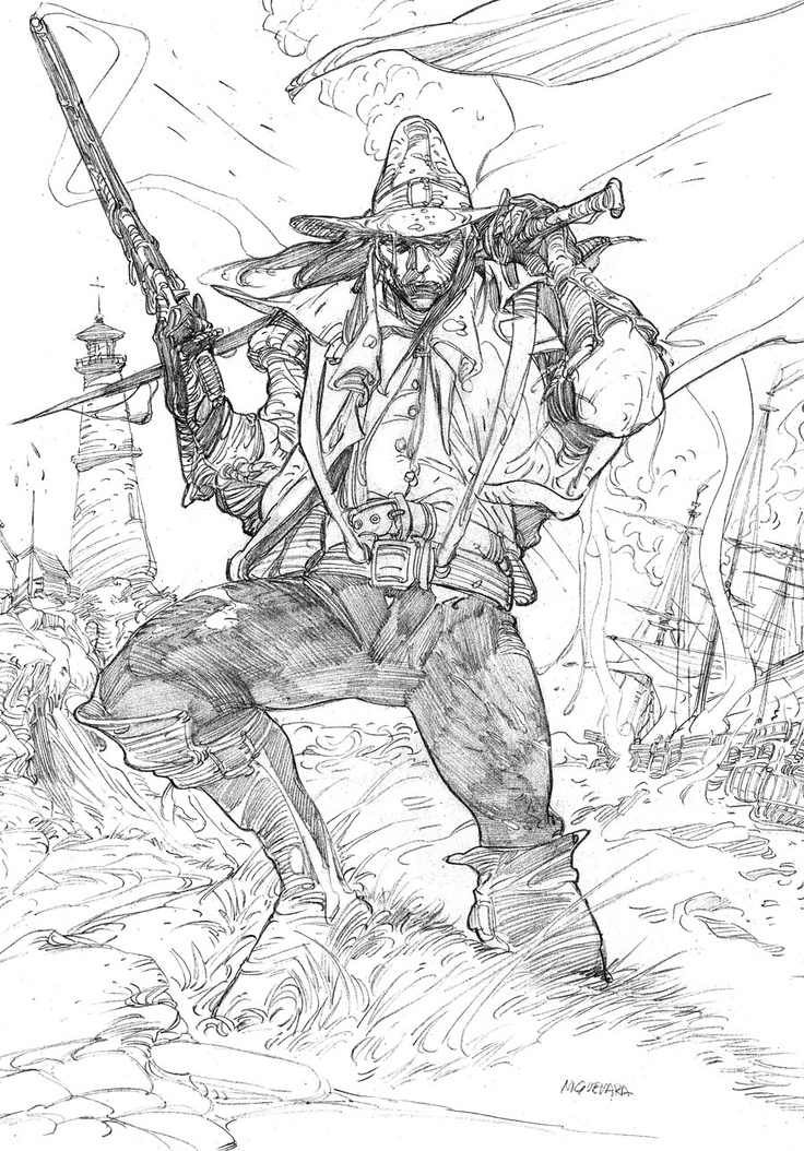 Solomon Kane coloring #3, Download drawings